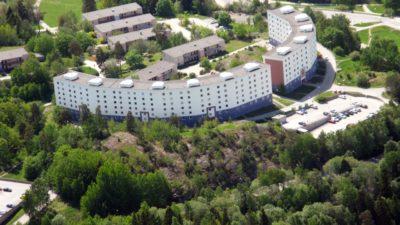 Branta backen i Botkyrka har gjort en energibesparing genom att använda färgen ThermoShield.