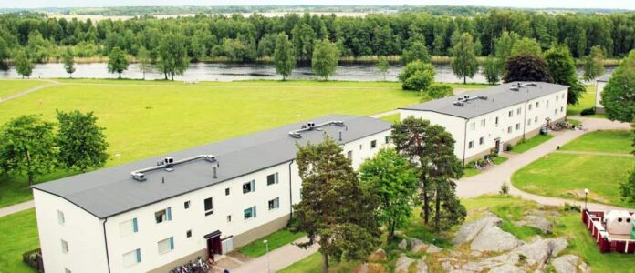 Fasadrenovering – Karlstads Bostads AB
